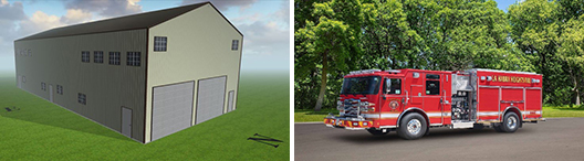 New Fire Engine and Apparatus Bay Headquarters